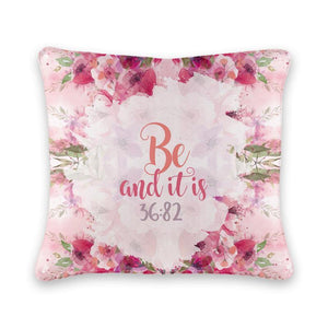 Be and It Is Cushion Cover - Firefly
