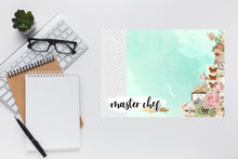 Load image into Gallery viewer, Vintage Chevrons Dry Erase Planner