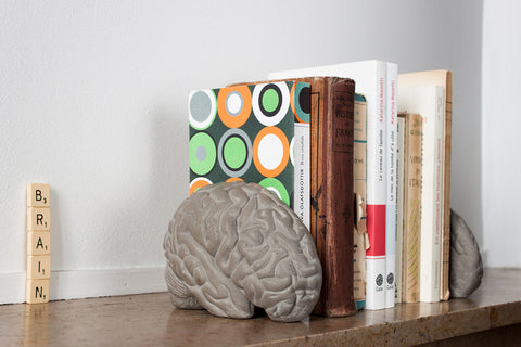 Grey Matter Bookends