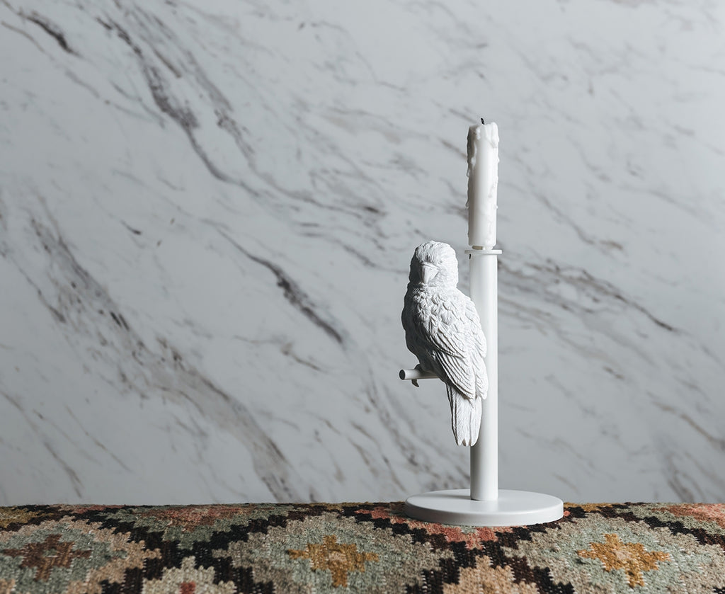 Parrot Candle Holder