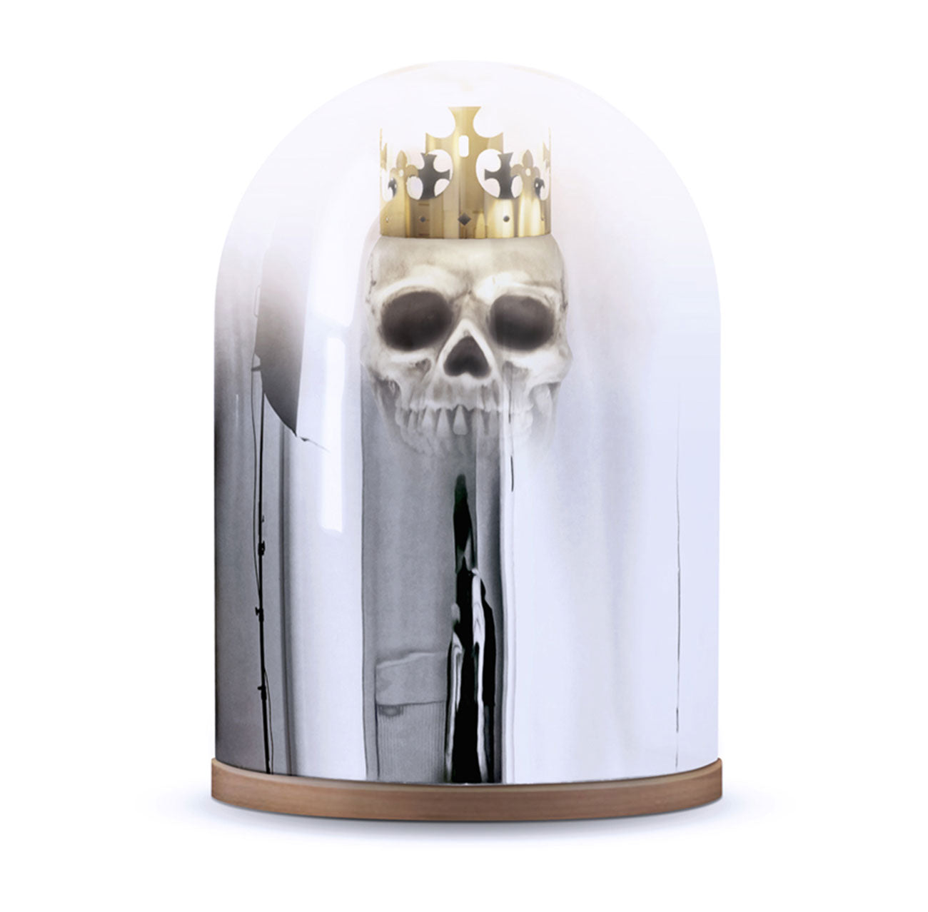King Arthur Mirror Dome Table Lamp