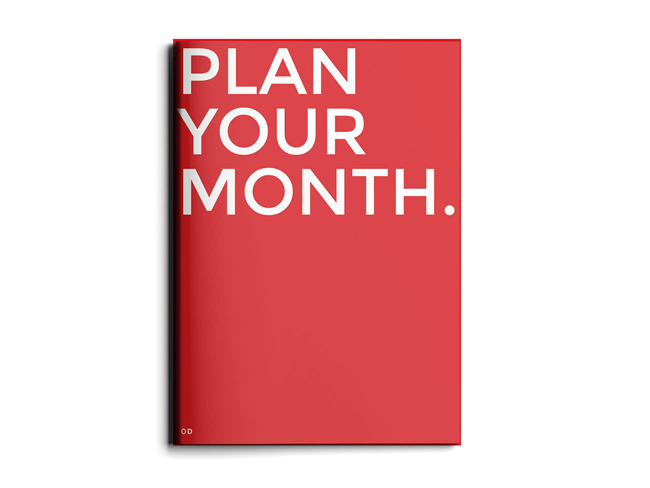 Plan Your Month