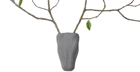 Trophy Concrete Stem Vase