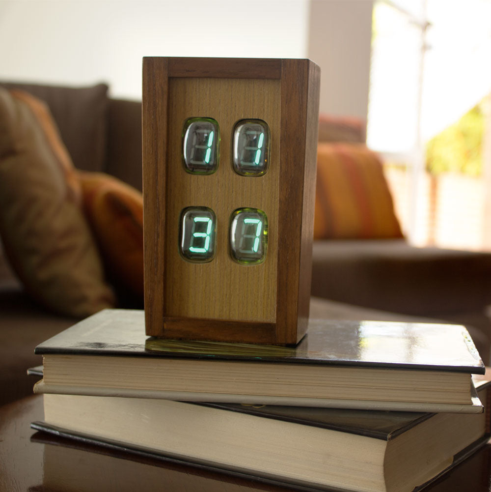 Chroniker Electroluminescent Tube Clock