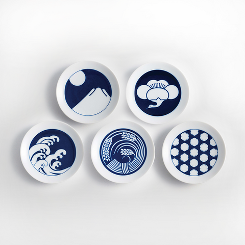 Seasonal Plates - Set of 5