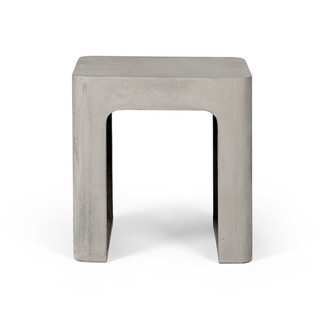 Edge Concrete Stool
