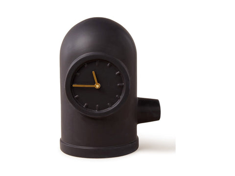 Base Table Clock Black