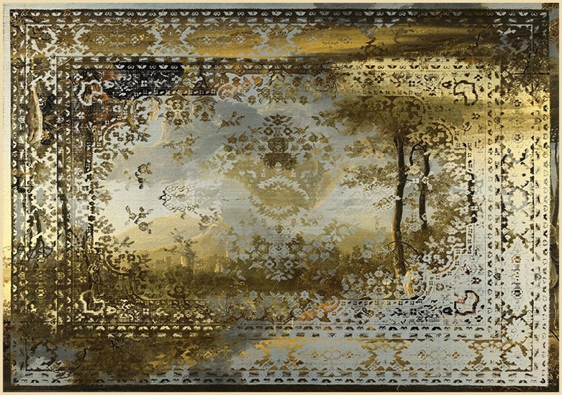 Kashan Remix Rug Collection