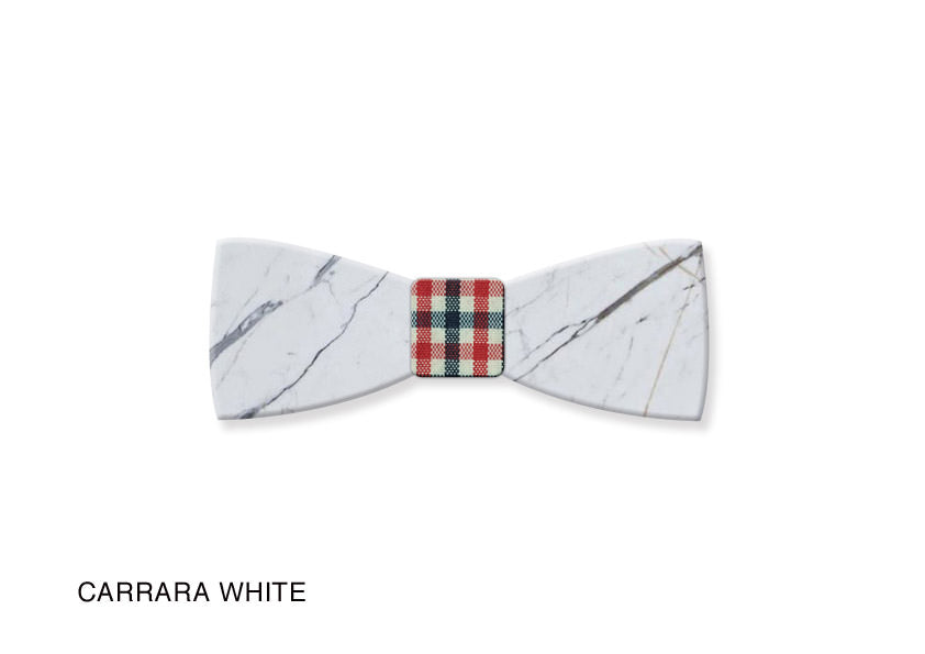 Marble Bow Tie