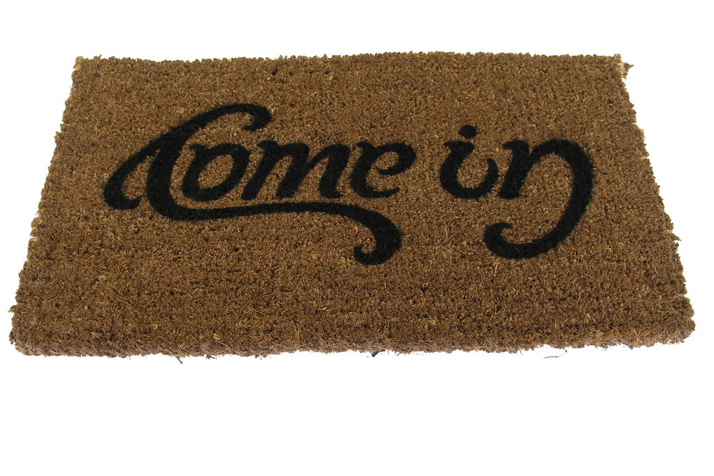 Come In/Go Away Doormat