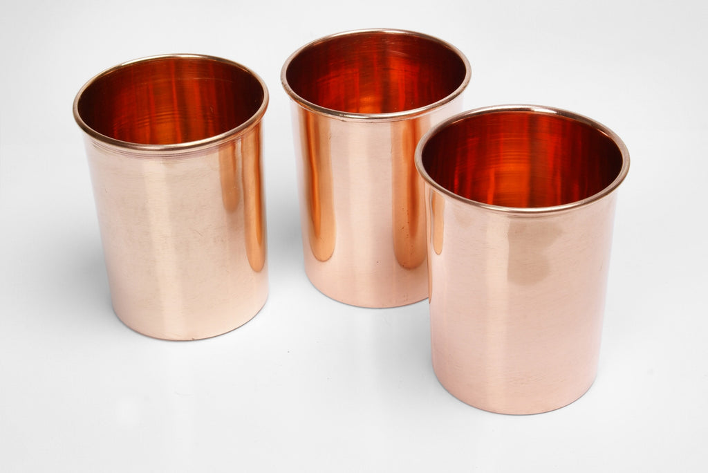 Copper Cup - Set of 2