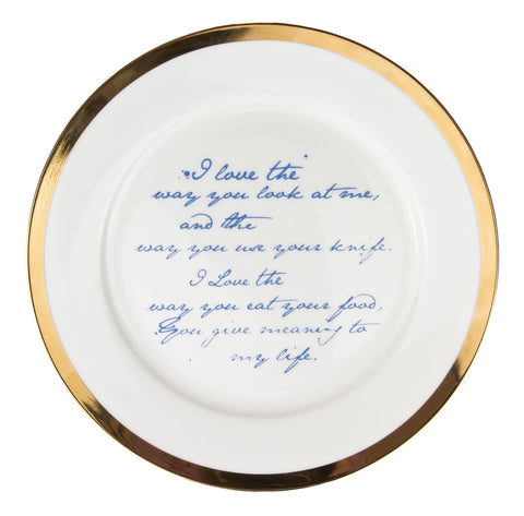 Poetry Plates