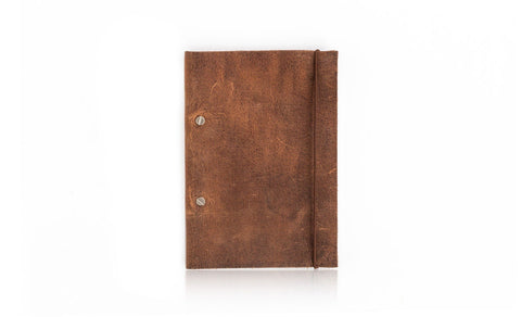 Re-Usable Leather Notebook