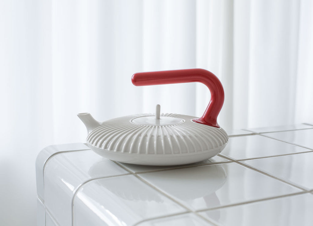 Handle With Care Teapot
