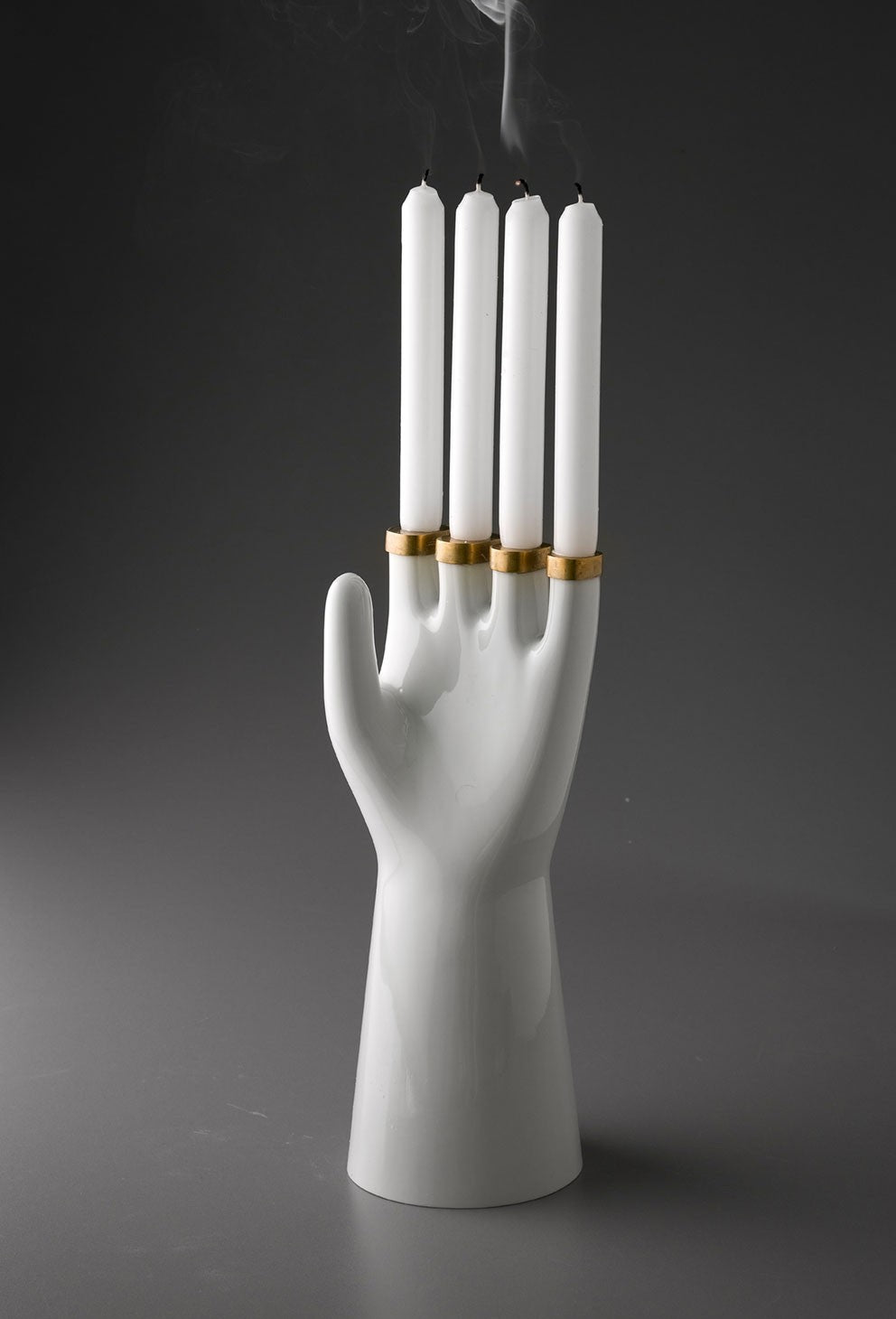 Hands Up Candleholder