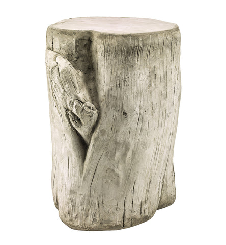 Concrete Log Stool