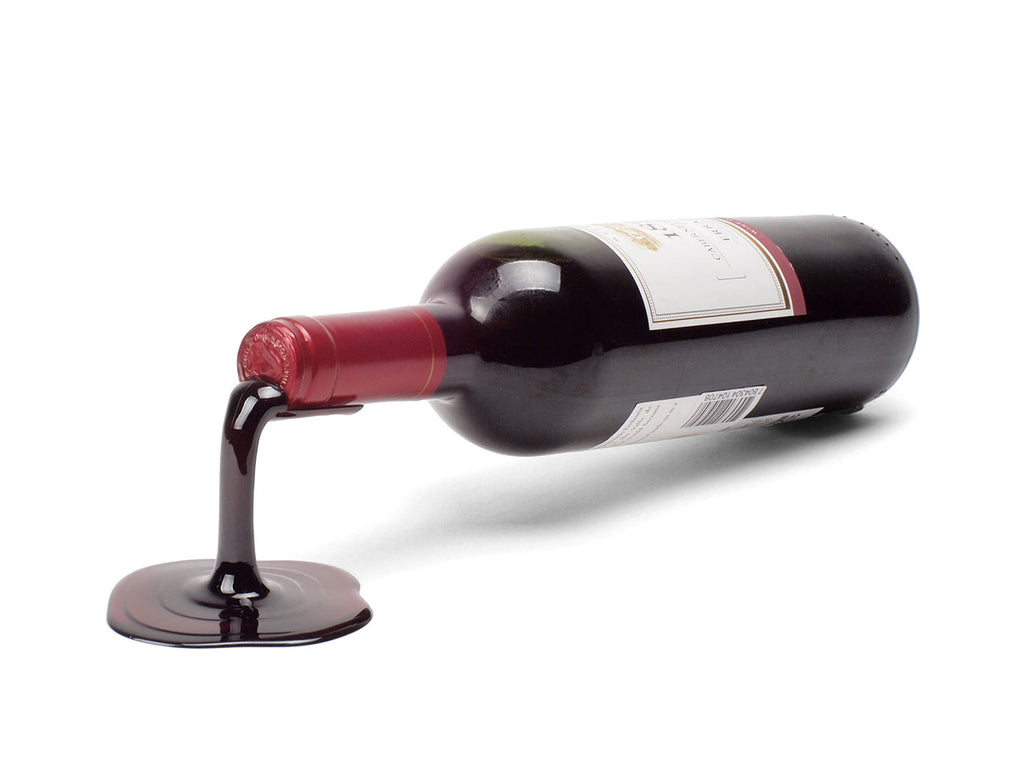Spilled Wine Bottle Holder Set