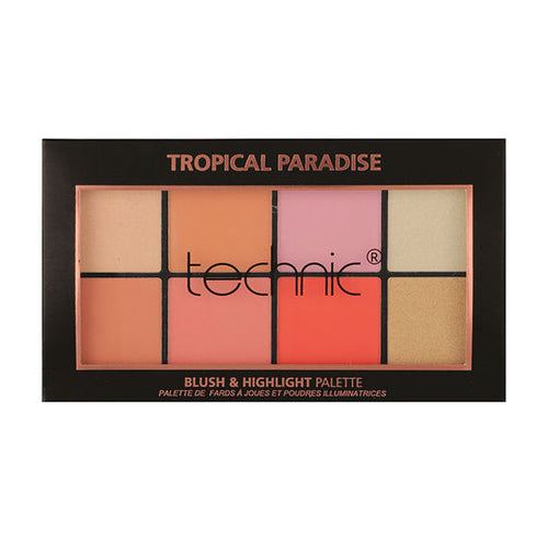 Technic Tropical Paradise Blush & Highlighter Palette - Super Perfumes