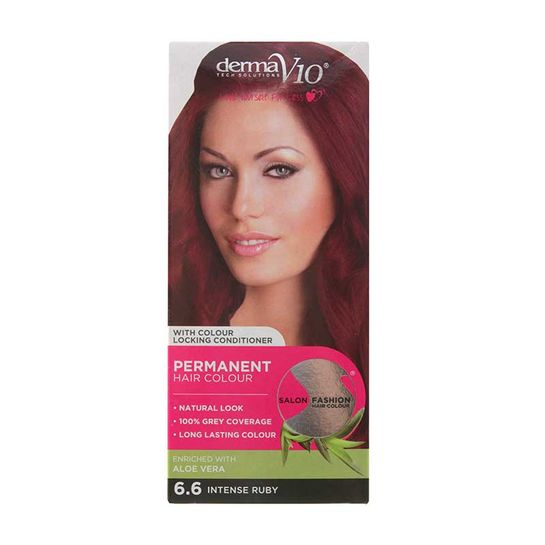 Derma V10 Salon Fashion Permanent Hair Colour - Super Perfumes