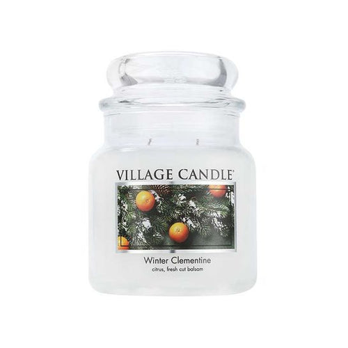 Village Candle Winter Clementine Traditions Candle 450g - Super Perfumes