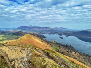 View of Derwentwater rom Catbells