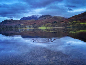 ripples on buttermere water