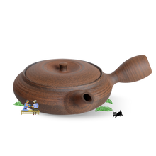 Load image into Gallery viewer, Kohokujo Tokoname-yaki Kyusu