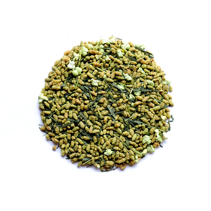 Genmaicha with Matcha  抹茶入り玄米茶