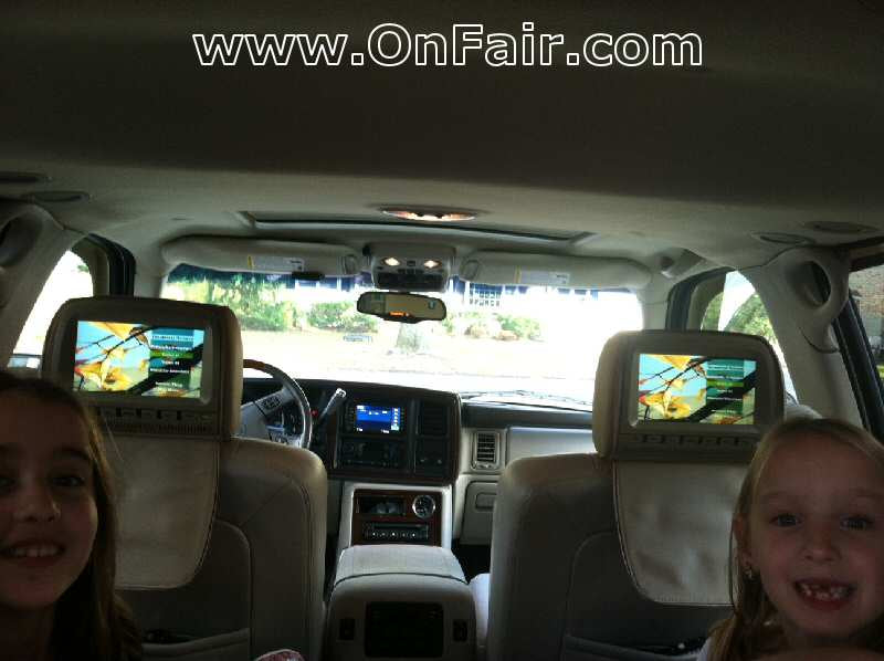 2003 Cadillac Escalade Headrest DVD Player Install