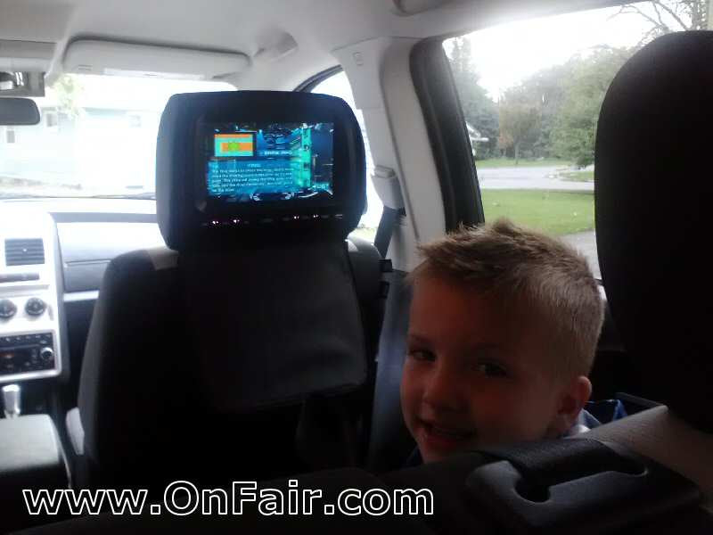 2009 Dodge Journey Headrest DVD Player Install