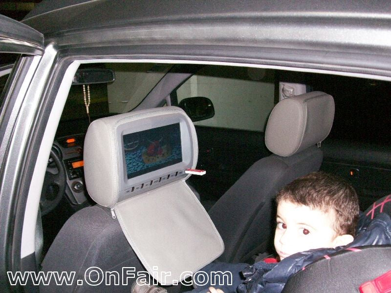 2010 Kia Carens Headrest DVD Player Install