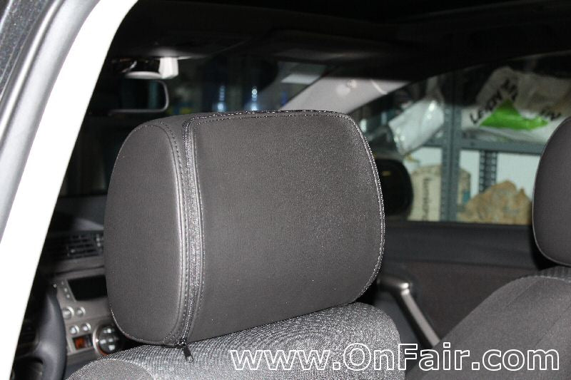 2011 Toyota Verso Headrest DVD Player Install