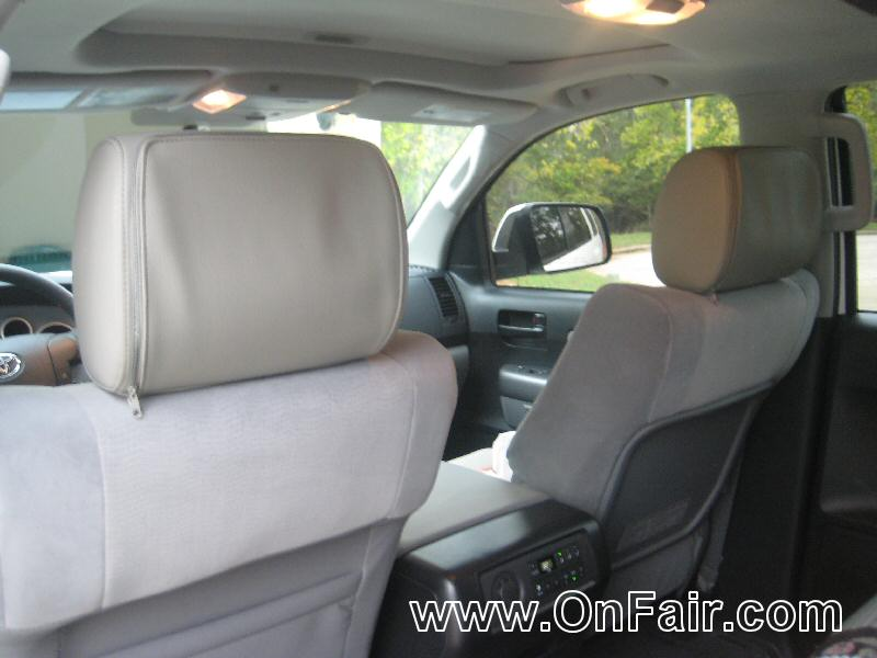 2012 Toyota Sequoia Headrest DVD Player Install