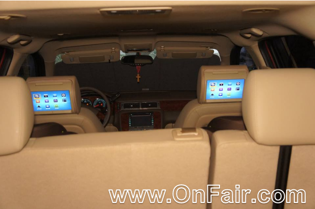 2013 Chevy Suburban Headrest DVD Player Review
