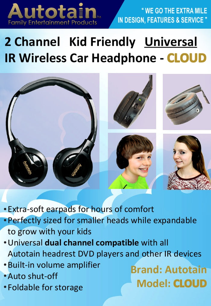 cloud best ir wireless headphone for kids