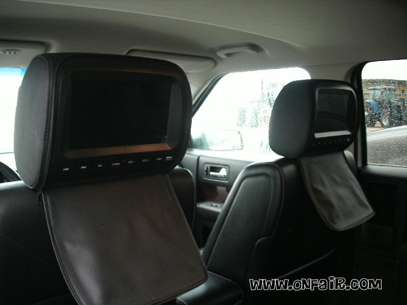 2009 Ford Flex Headrest DVD Player Install