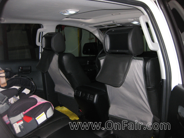 2011 Toyota Tundra Crewmax Headrest DVD Player Install