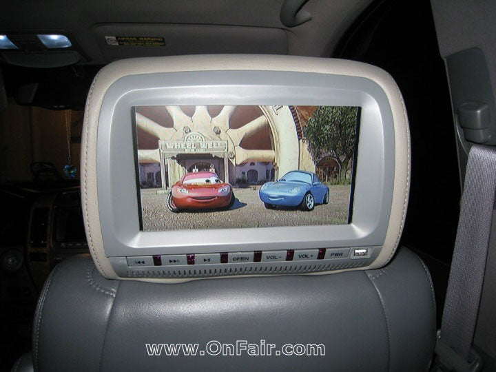 2005 Isuzu Ascender Headrest DVD Player Install