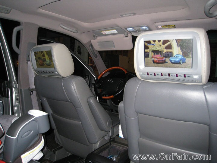 200 Lexus GX470 Headrest DVD Player Install