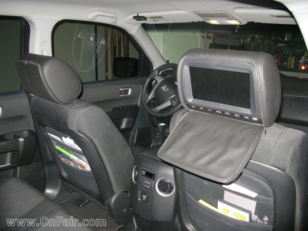 2011 Honda Pilot Crewmax Limited Headrest DVD Player Install