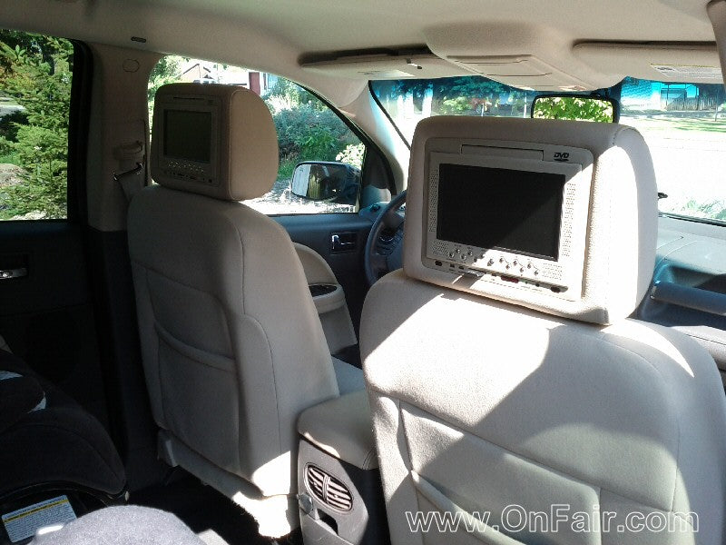 2008 Ford Taurus Headrest DVD Player Install