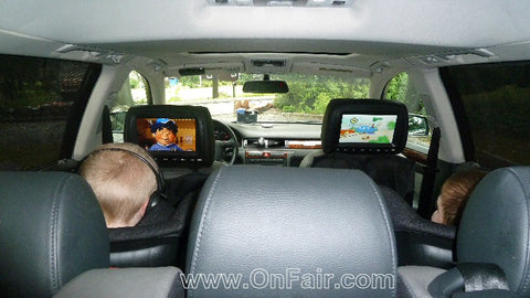headrest dvd player review for audi