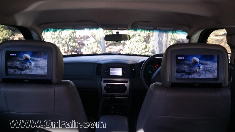Headrest DVD Player Review Install in Jeep Grand Cherokee