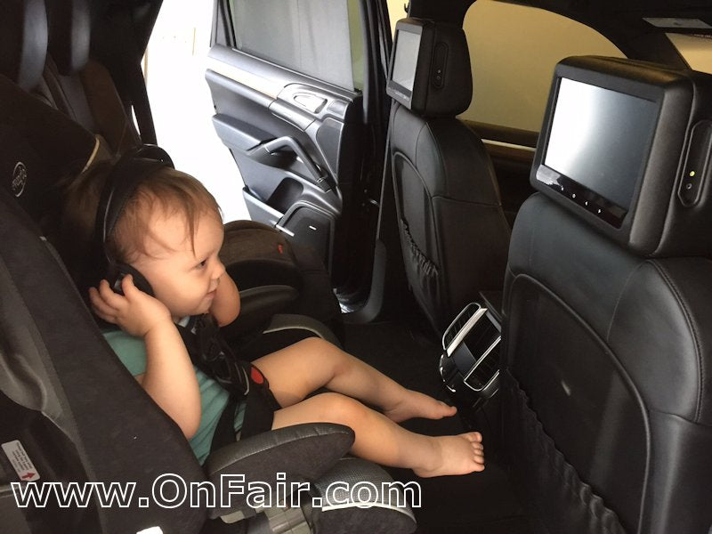 headrest dvd player review 2012 porsche cayenne s