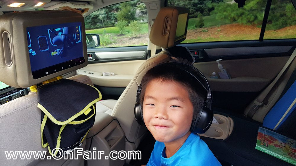 2015 subaru outback headrest dvd player install review