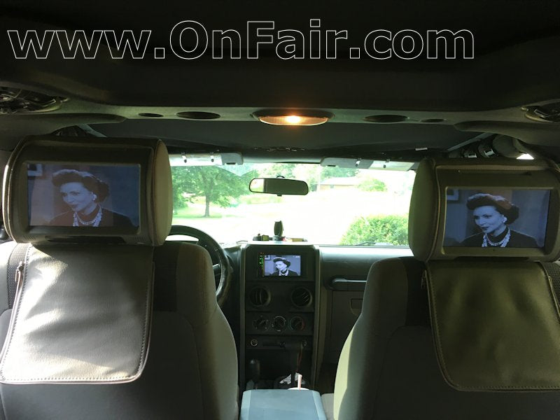 Headrest DVD Player Review Jeep Wrangler