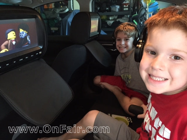Headrest DVD Player Review in 2015 Nissan Altima