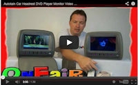 how to adjust volume on headrest dvd player video games