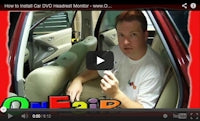 how to install headrest dvd player in vehicle video