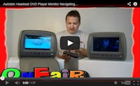 how to navigate headrest dvd player video game menu
